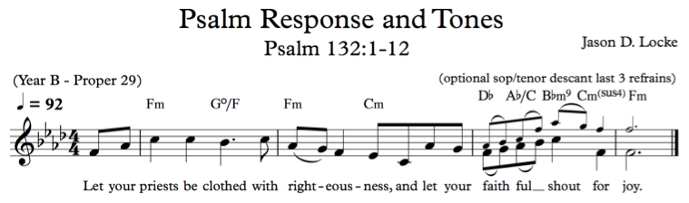 A Psalm Setting - Psalm 132 - Our Sacred Song